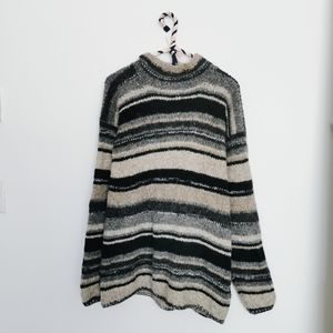 Cividini Italian Knit Mock Neck Sweater